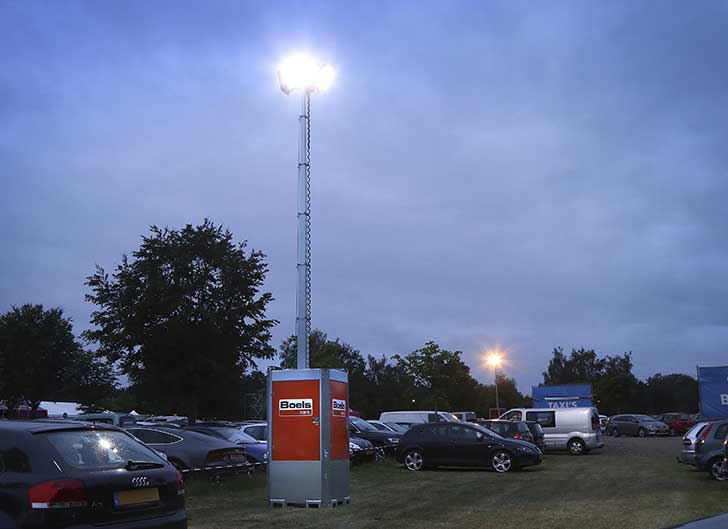 Boels invests in lighting masts